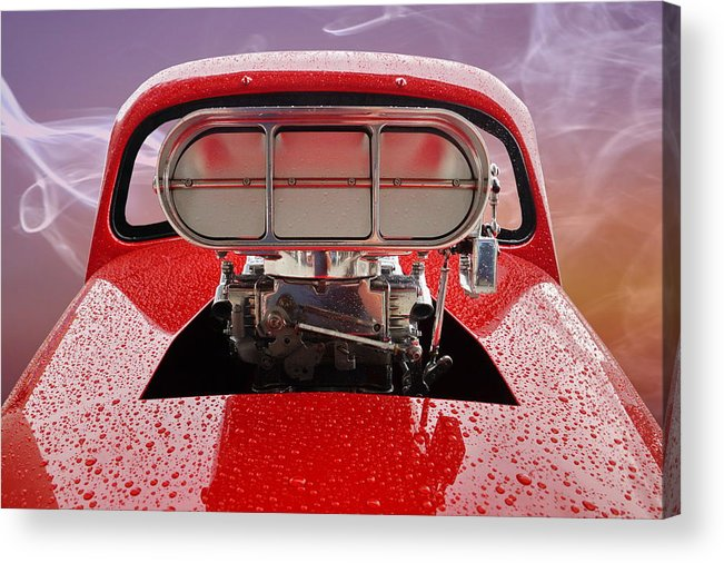 Blown Acrylic Print featuring the photograph Blown by Alan Hutchins