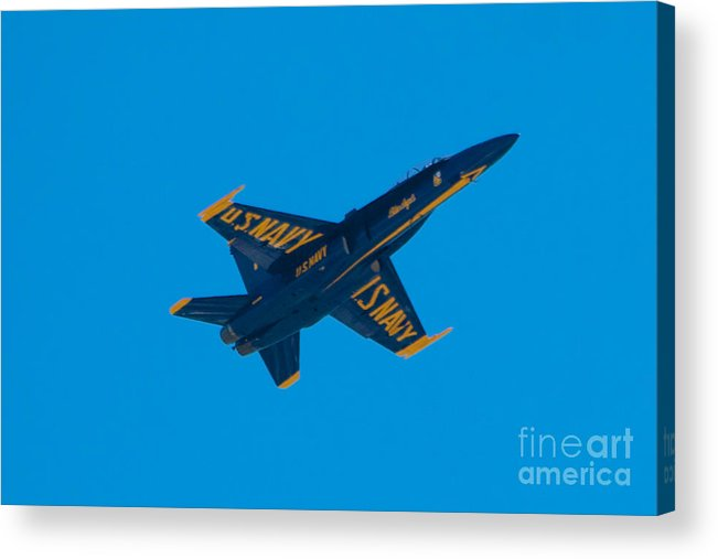 Blue Angels Acrylic Print featuring the photograph Blue Angels 17 by Mark Dodd