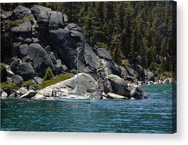 Usa Acrylic Print featuring the photograph Boat A Rockin by LeeAnn McLaneGoetz McLaneGoetzStudioLLCcom