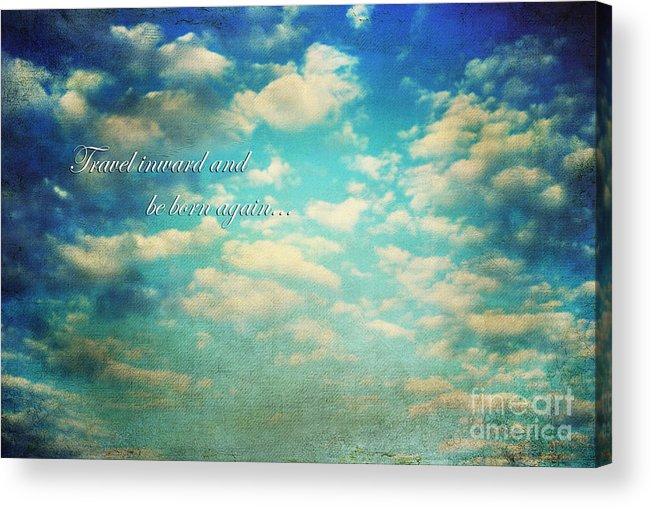 Above Acrylic Print featuring the photograph Born Again by Darren Fisher