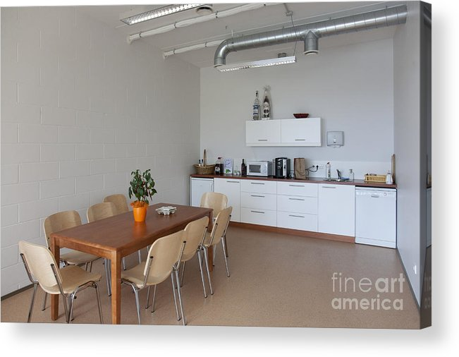 Architectural Detail Acrylic Print featuring the photograph Break Room by Jaak Nilson