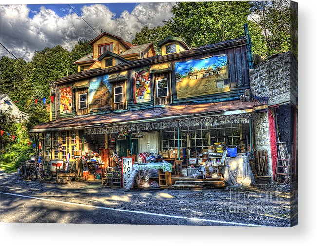 Business Acrylic Print featuring the photograph Business Near Thomas Wv by Dan Friend
