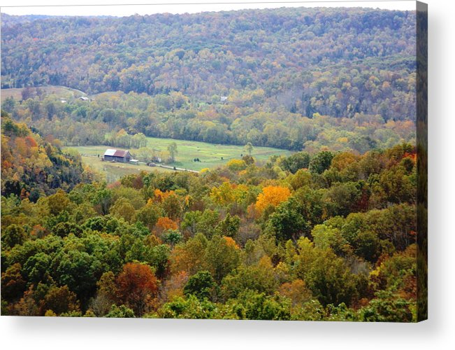 Buzzards Roost Acrylic Print featuring the photograph Buzzards Roost View by Jennifer Kelly