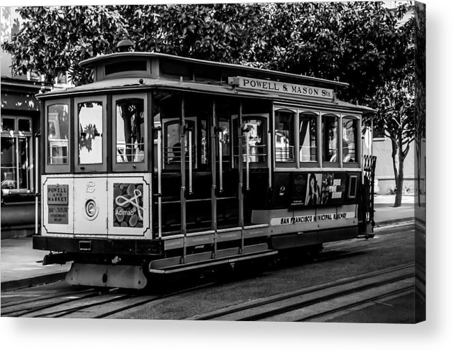 Cable Car Acrylic Print featuring the photograph Cable Car by Christofer Johnson