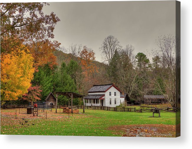 2010 Acrylic Print featuring the photograph Cable Mill House by Charles Warren