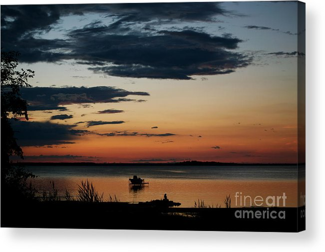 Canada Acrylic Print featuring the photograph Canadian Sunrise I by Louise Fahy