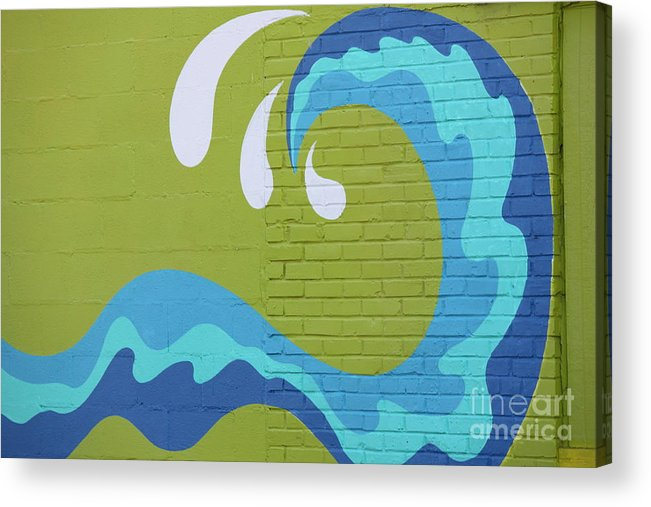 Acrylic Print featuring the photograph Carolina Wave by Bev Veals