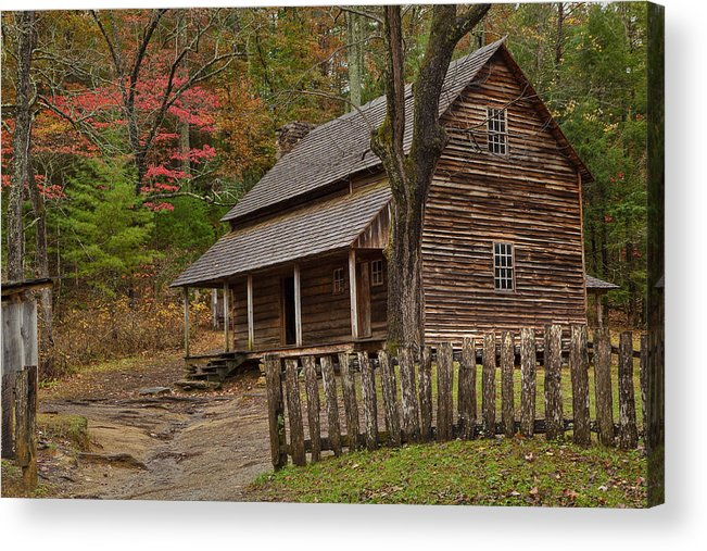 2010 Acrylic Print featuring the photograph Carter House by Charles Warren