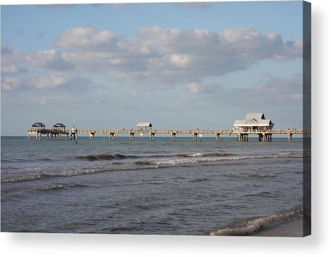 Clearwater Acrylic Print featuring the photograph Clearwater Pier 69 by Christiane Schulze Art And Photography