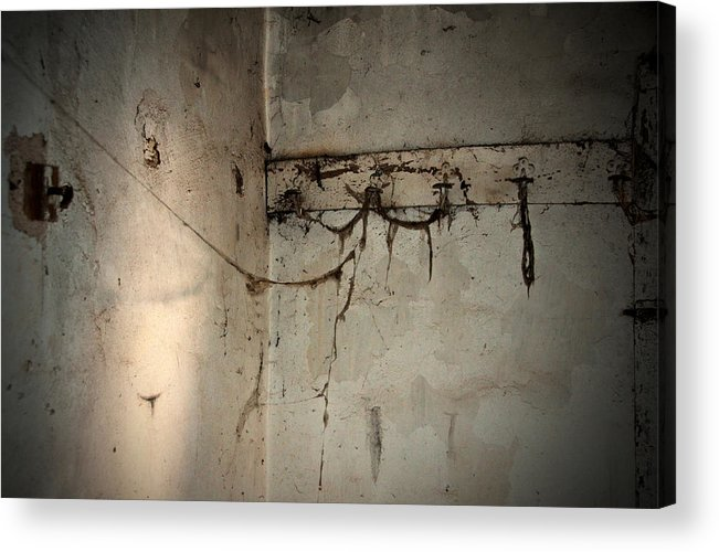 Cobweb Acrylic Print featuring the photograph Cobwebs On The Clothes Hook by RicardMN Photography