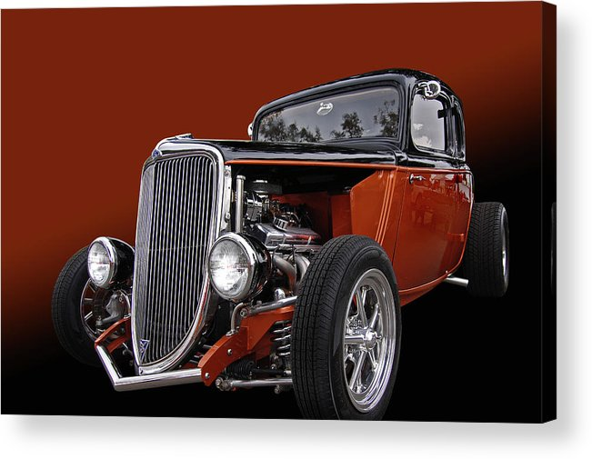 Sweet Acrylic Print featuring the photograph Copperod by Bill Dutting