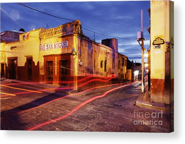 Architecture Acrylic Print featuring the photograph Crossroads by Jeremy Woodhouse