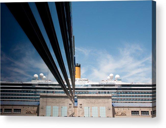 Ship Acrylic Print featuring the photograph Cruise by Okan YILMAZ