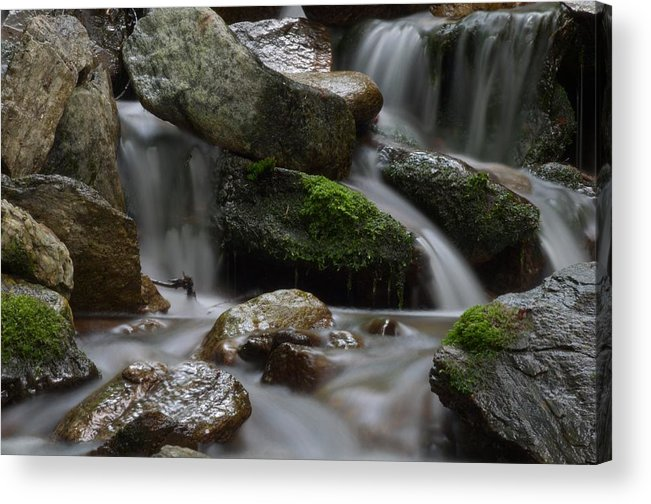 Rocks Acrylic Print featuring the photograph D5100 135 by Robert Reese