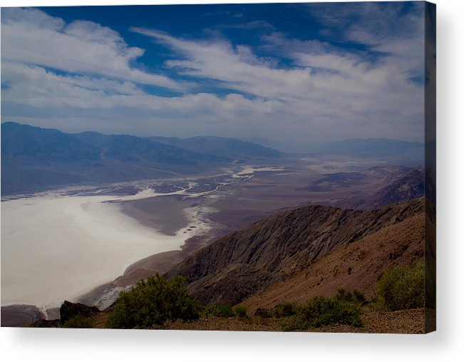 Death Valley Acrylic Print featuring the photograph Death Valley Vista by Jen TenBarge
