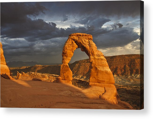 Landscape Acrylic Print featuring the photograph Delicate Arch by Joyce Specht