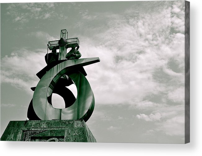 Monte Do Gozo Acrylic Print featuring the photograph Destiny by HweeYen Ong