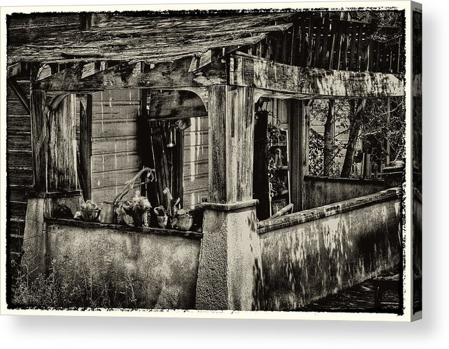 New Mexico Acrylic Print featuring the photograph Dilapidated House by David Patterson