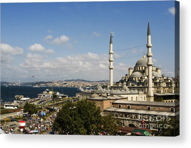 Turkey Acrylic Print featuring the photograph East Meets West by Leslie Leda