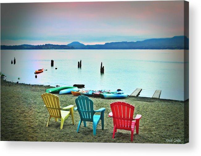 Beach Acrylic Print featuring the photograph Endless Summer by Heidi Smith