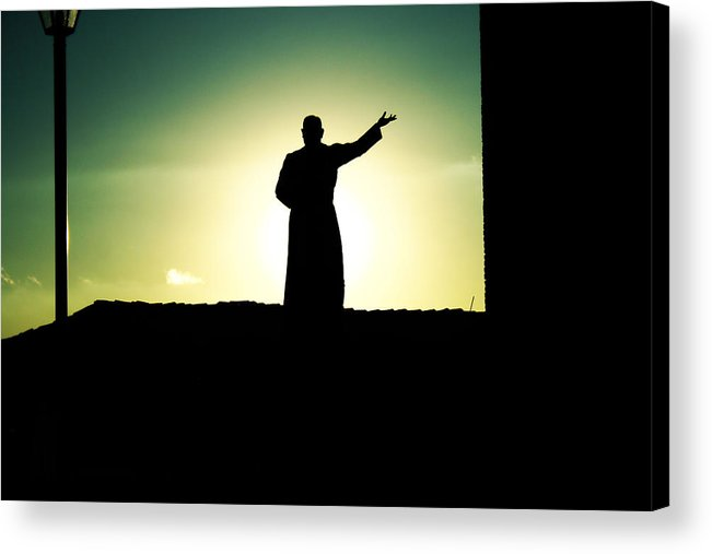 Religious Acrylic Print featuring the photograph Enlightenment by Cesar Ponce