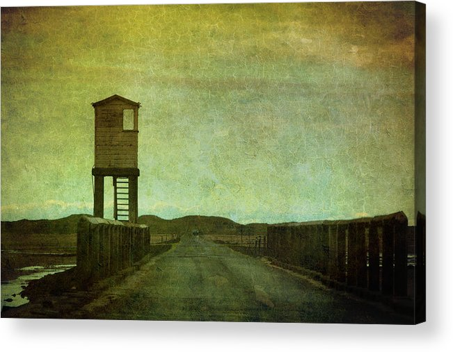 Holy Island Acrylic Print featuring the photograph Enter Holy Island by Peter Chadwick