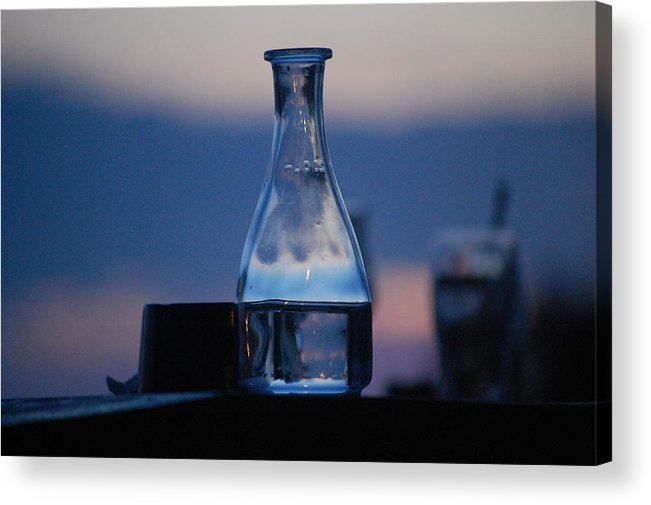 Dickon Acrylic Print featuring the photograph Evening Drinks II by Dickon Thompson
