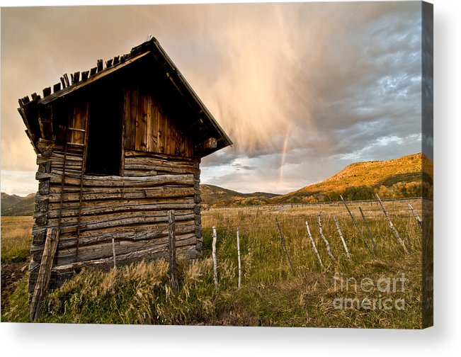 Durango Acrylic Print featuring the photograph Evening Storm by Jeff Kolker
