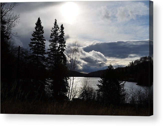 Fall Acrylic Print featuring the photograph Fading Light by Brad Cohen