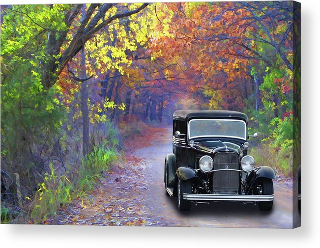 32 Acrylic Print featuring the photograph Fall 32 by Bill Dutting