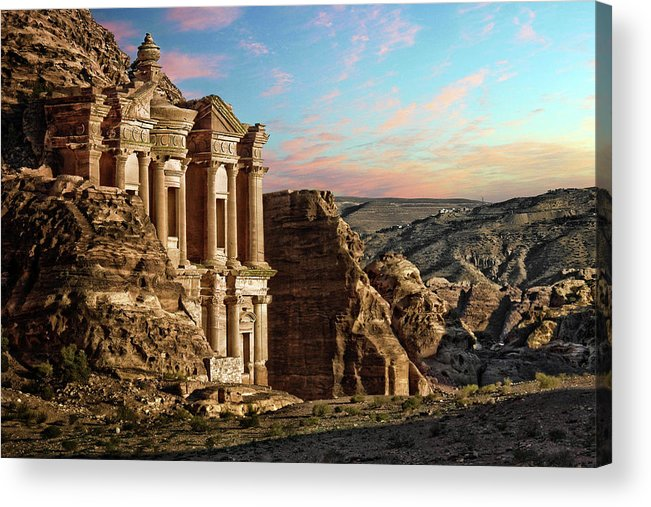 Horizontal Acrylic Print featuring the photograph Fantasy by David Lazar