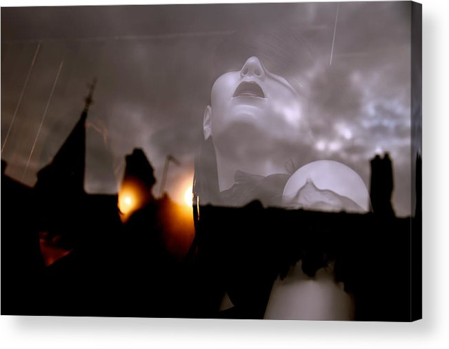 Jezcself Acrylic Print featuring the photograph Fire Within by Jez C Self