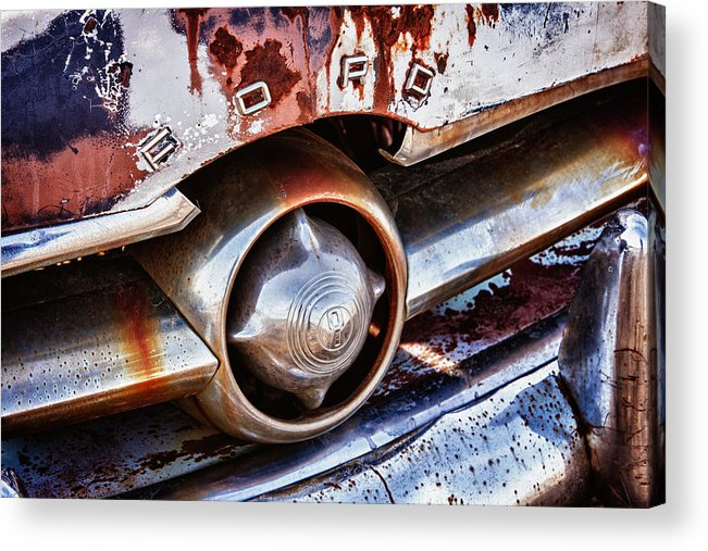 Cheyenne Acrylic Print featuring the photograph Ford by Richard Steinberger