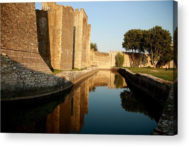 Fortress Acrylic Print featuring the photograph Fortress by Frederic Vigne