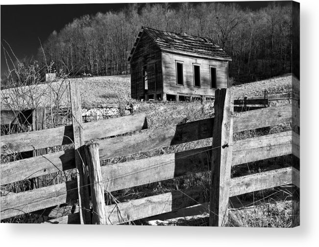 Oklahoma Acrylic Print featuring the photograph Ghosts 6 by Daniel Stober