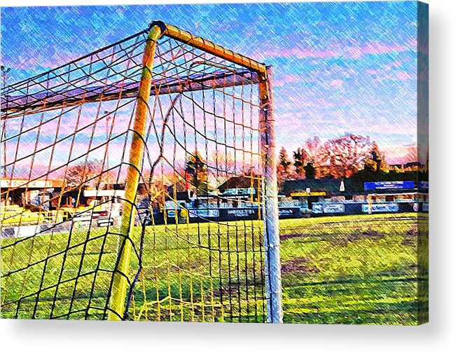 Goal Acrylic Print featuring the photograph Goal Of Dreams by Mandy Jayne