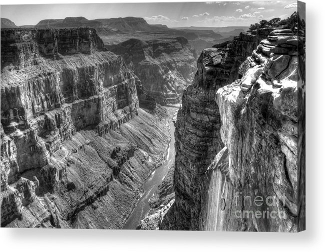 Grand Canyon Acrylic Print featuring the photograph Grand Canyon 2 by Vivian Christopher