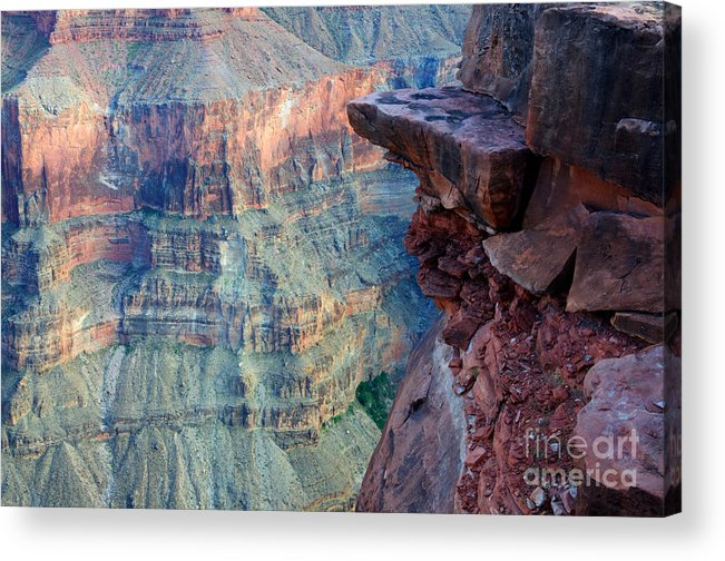 Grand Canyon Acrylic Print featuring the photograph Grand Canyon A Place To Stand by Bob Christopher