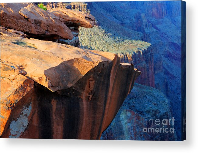 Grand Canyon Acrylic Print featuring the photograph Grand Canyon Into Space by Bob Christopher