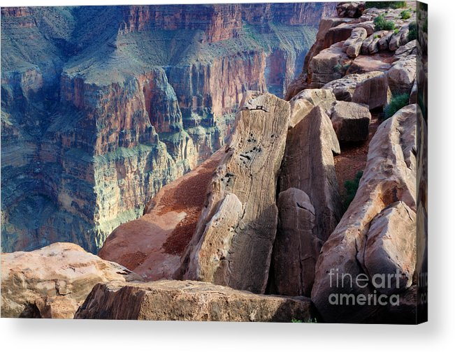 Grand Canyon Acrylic Print featuring the photograph Grand Canyon Roxie Roller by Bob Christopher