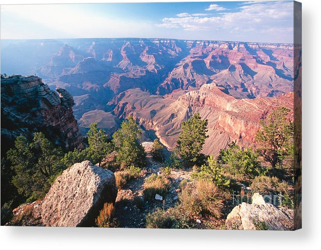 Grand Canyon Acrylic Print featuring the photograph Grand Canyon Vista by George Oze