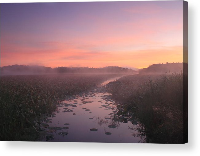 Concord Acrylic Print featuring the photograph Great Meadows National Wildlife Refuge Dawn by John Burk