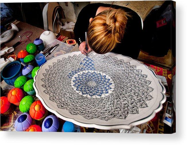 Handiwork Acrylic Print featuring the photograph Handcraft by Okan YILMAZ