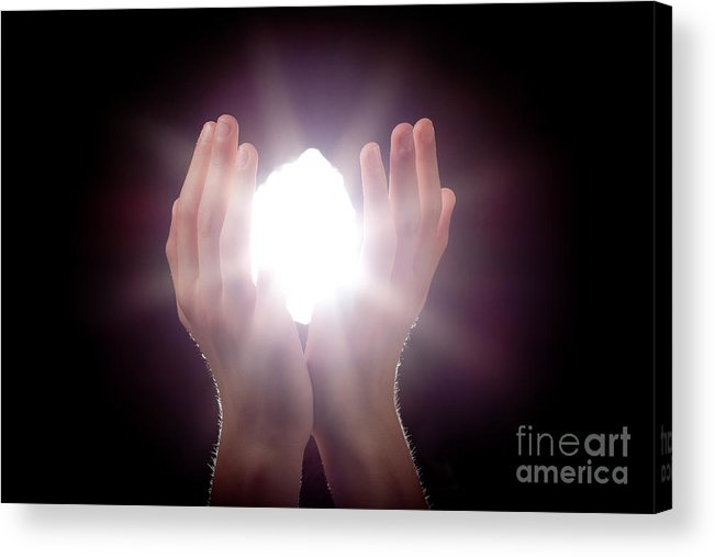 Light Acrylic Print featuring the photograph Inspiration by Cindy Singleton
