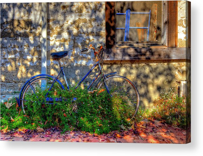 Old Bikes Acrylic Print featuring the photograph Junked by Eyal Nahmias