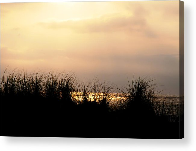 Just Over The Dune Acrylic Print featuring the photograph Just Over The Dune by Bill Cannon