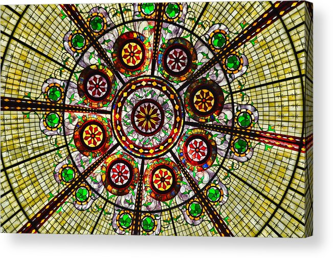 Kaleidoscope Acrylic Print featuring the photograph Kaleidoscope by Chris Fleming