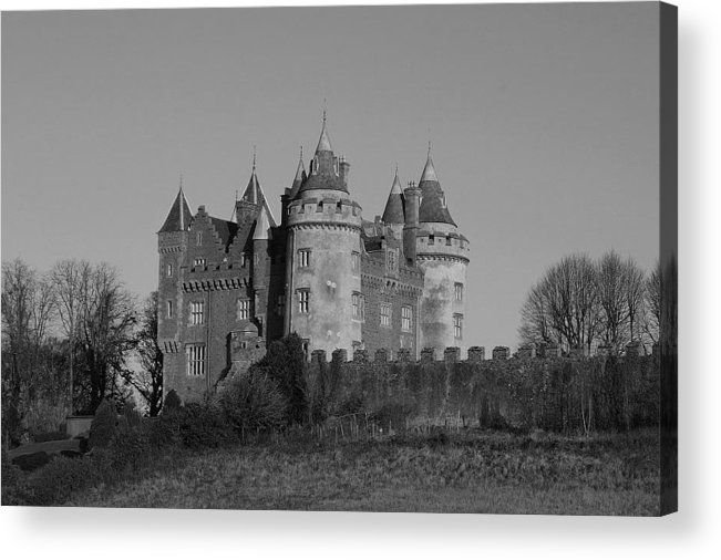 Irish Acrylic Print featuring the photograph Killyleagh Castle by Martine Maclennan