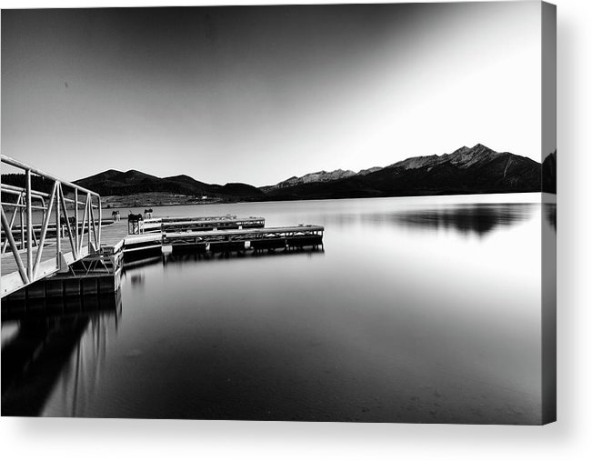 Acrylic Print featuring the photograph Lake Dillon by Jeffrey Bake