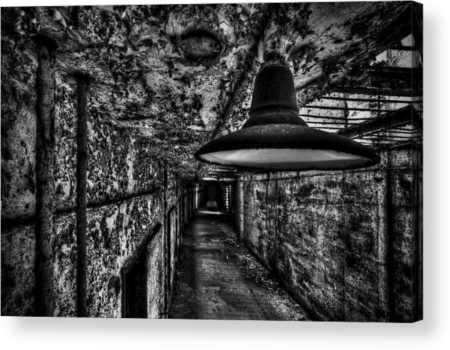 Light Acrylic Print featuring the photograph Lights Out by Dmitriy Mirochnik